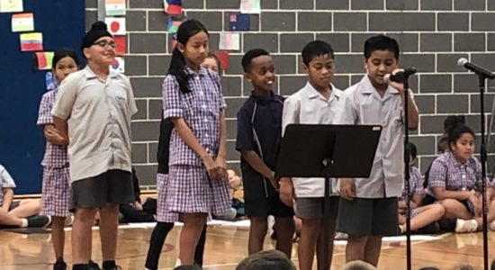 Year 4  – Assembly!