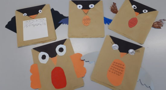 Making Paperbag Puppets and Learning a New Skill |213