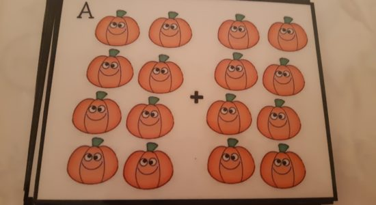 001 are beaut at playing the Maths game- 'Pumpkin Scoot'