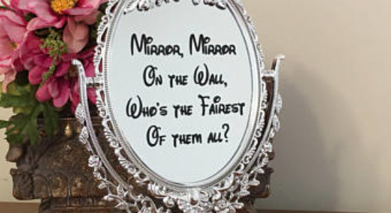 001- 'Mirror, Mirror on the Wall', Foundation children loved it all.