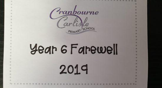 Year 6 | Farewell