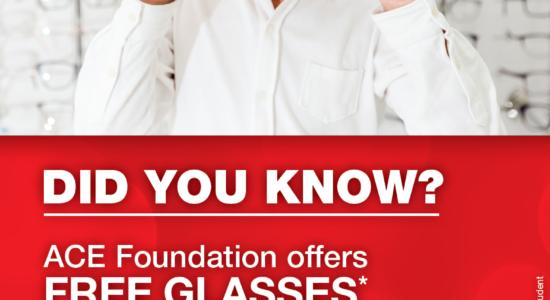 Free Glasses!