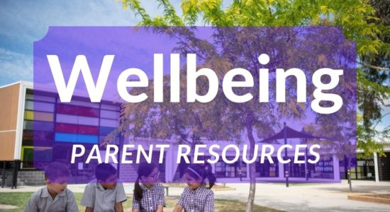 Wellbeing Weekly Parent Resource Week 7