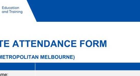 Updated Onsite Attendance Form
