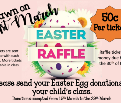 Easter Hat Parade/Raffle Draw